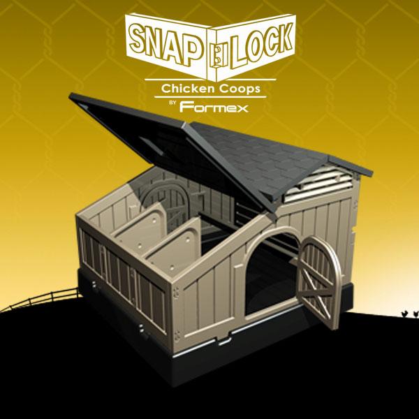 Snap Lock Standard Chicken Coop