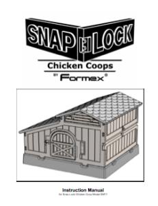 Instruction manual for standard coop